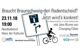 Veranstaltung: Braucht Braunschweig den Radentscheid?