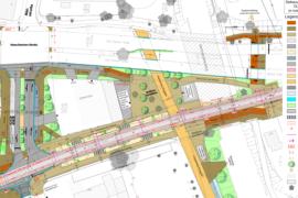 Umbau Gliesmaroder Bahnhof: Kein Schnellweg entlang der Magistrale?