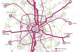 Pressemitteilung: Rad- und Mobilitätsverbände präsentieren Entwurf für Veloroutennetz