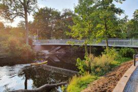 Neue Sidonienbrücke fertig